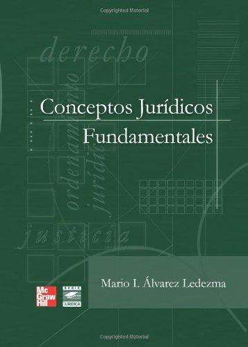9789701066324: Conceptos Juridicos Fundamentales (Spanish Edition)