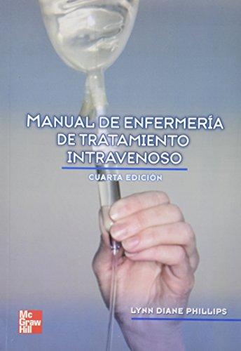 9789701068786: Manual de enfermeria de tratamiento intravenoso