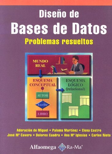 9789701506875: Diseno de Bases de Datos - Problemas Resueltos (Spanish Edition)