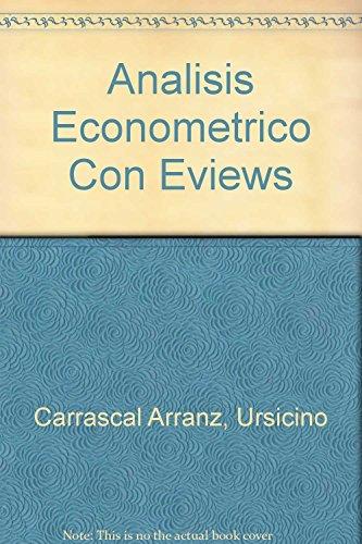 9789701507292: Analisis Econometrico Con Eviews