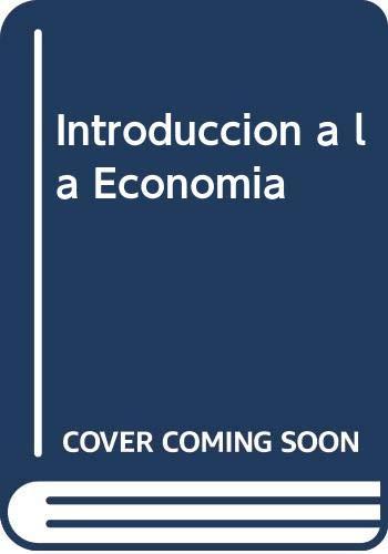 9789701510582: Introduccion a la Economia