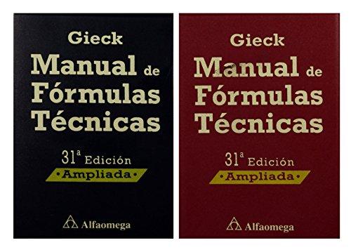 9789701512746: Manual de Formulas Tecnicas (Spanish Edition)