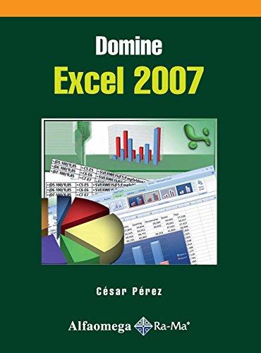 9789701514504: Domine EXCEL 2007 (Spanish Edition)