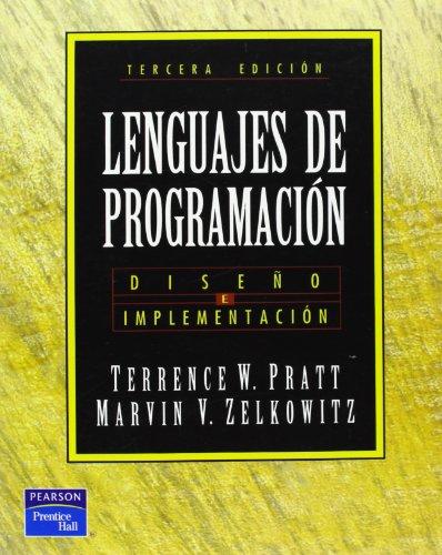 9789701700464: Lenguajes de Programacion - 3b* Edicion (Spanish Edition)