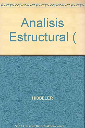 9789701700471: Analisis Estructural - 3b: Edicion (Spanish Edition)