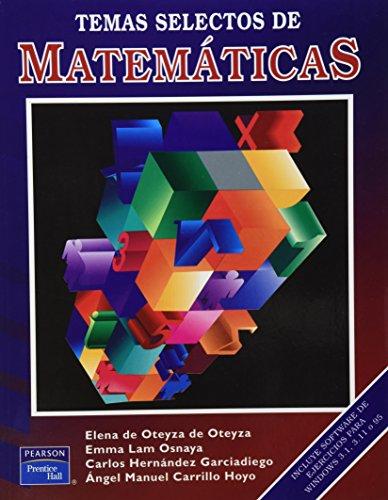9789701702147: Temas Selectos de Matematica (Spanish Edition)