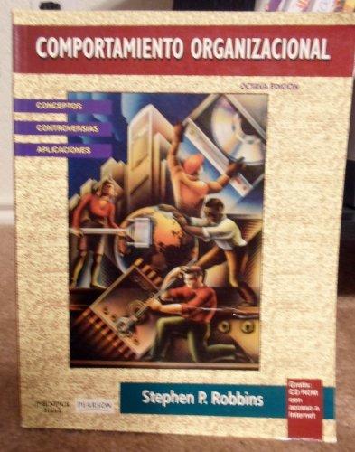 9789701702369: Comportamiento Organizacional - Con CD-ROM 8b: Edic (Spanish Edition)