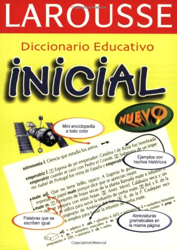 9789702200253: Diccionario Educativo Inicial (Spanish Edition)