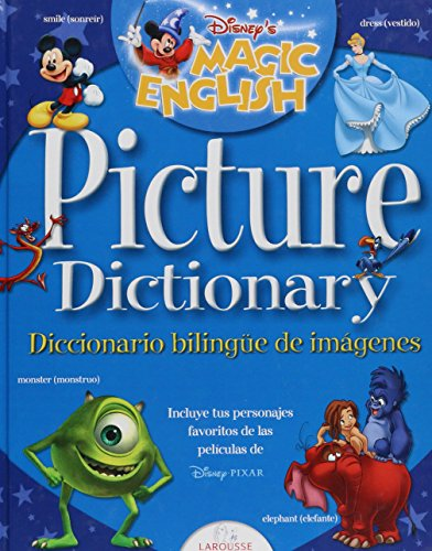 9789702210726: Magic English Picture Dictionary Disney (Spanish Edition)
