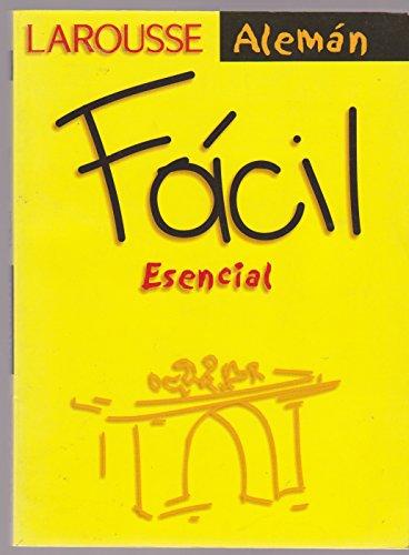 Aleman Esencial Facil/ Easy Essential German w/CD