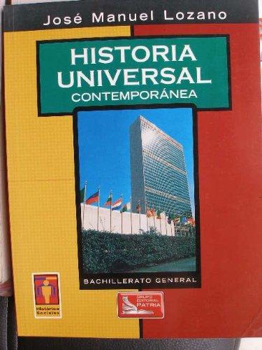 9789702409847: Historia Universal Contemporanea/Universal Contemporary History