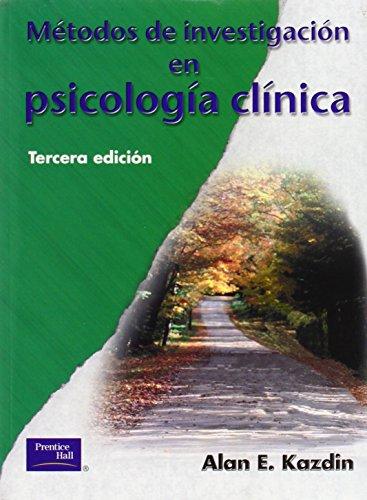 9789702600091: Metodos de Investigacion En Psicologia Clinica (Spanish Edition)