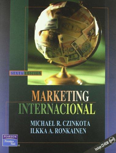 Marketing Internacional - 6b0 Edicion (Spanish Edition): Czinkota, Michael R.