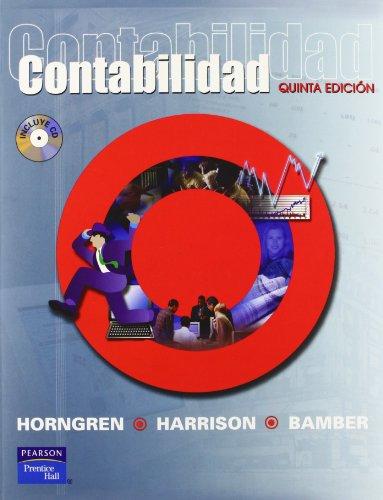 9789702602866: Accounting (Spanish Translation) (5th Edition) (Spanish Edition)