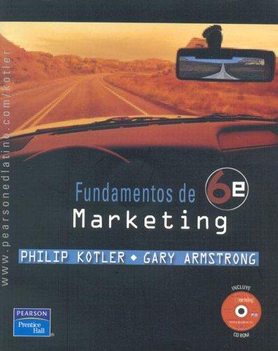 9789702604006: Fundamentos de Marketing (Spanish Edition)