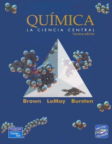 9789702604686: Chemistry (Spanish translation) (9th Edition)