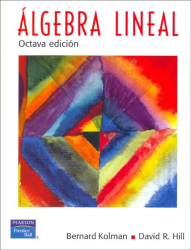 ALGEBRA LINEAL - KOLMAN
