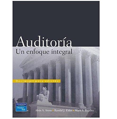 9789702607397: Auditoria: Un Enfoque Integral, 11/ed.