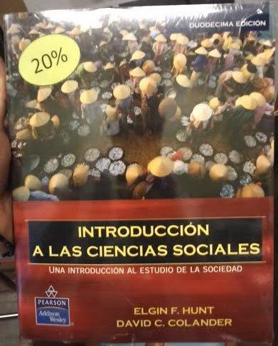 9789702608424: Introduccion a Las Ciencias Sociales. Una Introduccion Al Estudio De La Sociedad Bachillerato / 20 Ed.