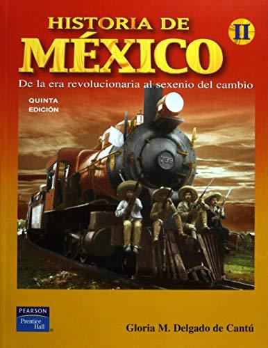 9789702609568: Historia de Mexico Vol. II (High school) (Spanish Edition)