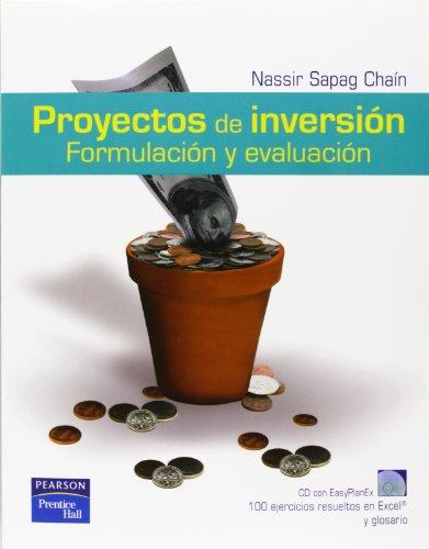9789702609643: Proyectos de Inversion, Formulacion y Evaluacion