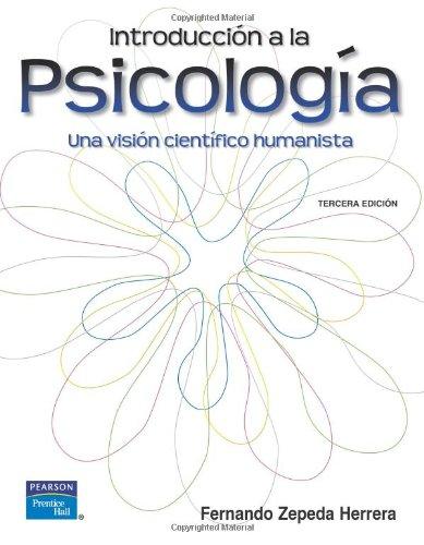 9789702610397: Introducción a la Psicología (Spanish Edition)