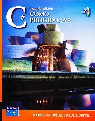 9789702610564: Como Programar C#, 2/ed., incluye cd