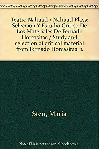 9789703208791: Teatro nahuatl-español, volumen II: 2