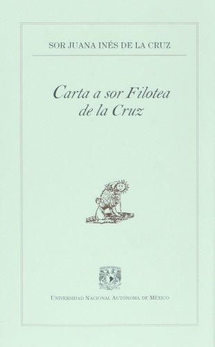 Carta a Sor Filotea de la Cruz: Cruz, Sor Juana