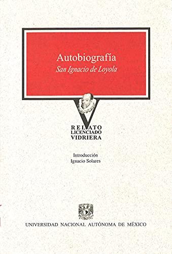 9789703220205: AUTOBIOGRAFIA. SAN IGNACIO DE LOYOLA