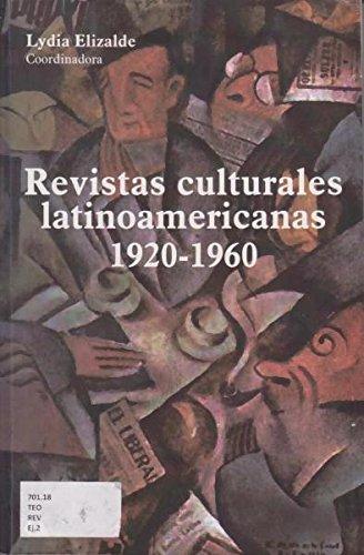 9789703514243: Revistas culturales latinoamericanas 1920-1960