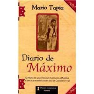 9789703701735: Diario de Maximo/ Maximo's Diary (Spanish Edition)