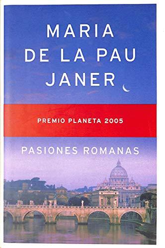 9789703704477: Pasiones Romanas (Spanish Edition)