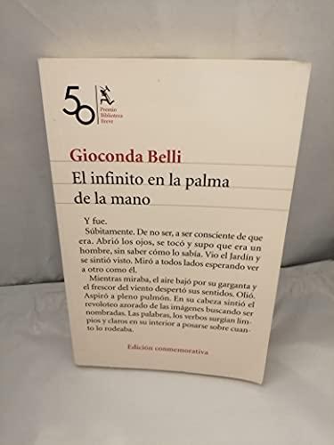 9789703707669: El infinito en la palma de la mano / Infinity in the Palm of Her Hand