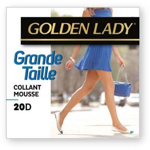 9789705348846: Golden lady - collant mousse grande taille NOIR T6