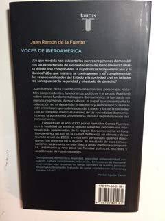 Voces de Iberoamerica: Conversaciones Con Carlos Fuentes,: Fuente, Juan Ramon