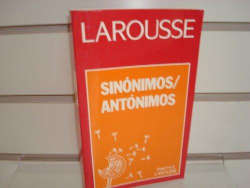 9789706070203: Sinonimos Antonimos/Synonyms Antonyms (Spanish Edition)