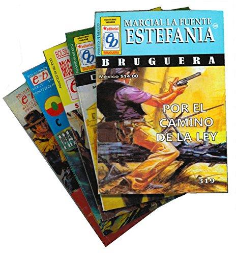 Cinco Novelas Surtidas De Vaqueros Por Marcial: Marcial LaFuente Estefania