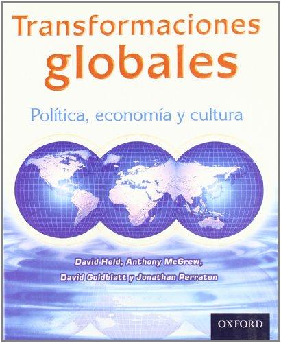 9789706135889: Transformaciones Globales (Spanish Edition)