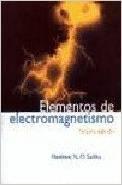 9789706136725: Elementos de Electromagnetismo (Spanish Edition)