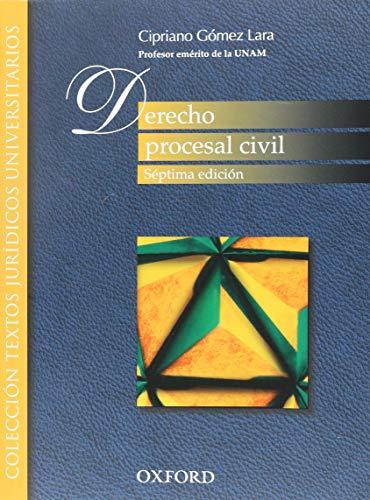 DERECHO PROCESAL CIVIL: GOMEZ LARA, CIPRIANO