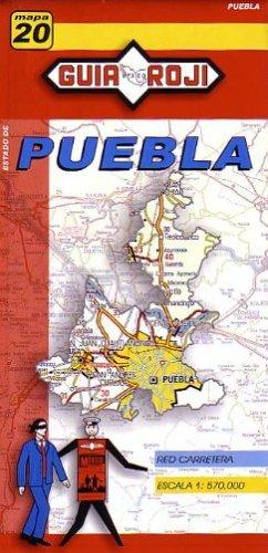 9789706212245: Puebla State Map Guia Roji (Spanish Edition)