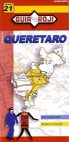 9789706212535: Queretaro State Map by Guia Roji (English and Spanish Edition)