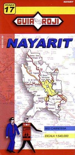 9789706213037: Nayarit State Map by Guia Roji