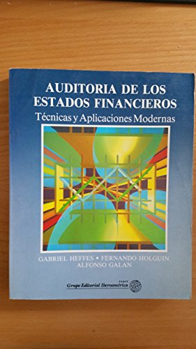 9789706250230: AUDITORIA DE LOS ESTADOS FINANCIEROS