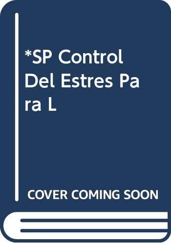 9789706251466: *SP Control Del Estres Para L