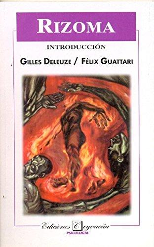 RIZOMA INTRODUCCION (9706330038) by Felix Guattari Gilles Deleuze