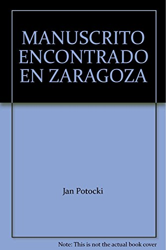 9789706330468: MANUSCRITO ENCONTRADO EN ZARAGOZA