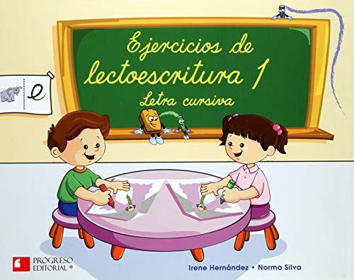 9789706414403: EJERCICIOS DE LECTOESCRITURA 1 LETRA CURSIVA