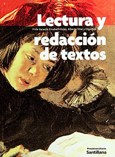 9789706425546: LECTURA Y REDACCION DE TEXTOS PREPA SANT